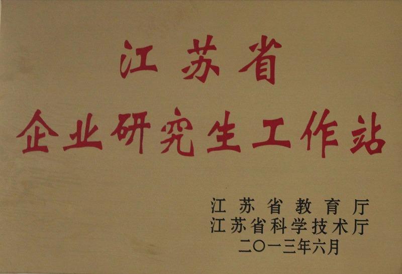 江苏省创业研究生工作站